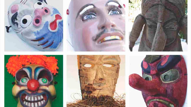 Máscaras del mundo. Colección Luisa Valenzuela