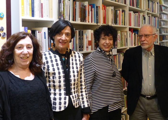 Gira por Europa: imágenes de la charla en el Centro de Arte Moderno de Madrid.