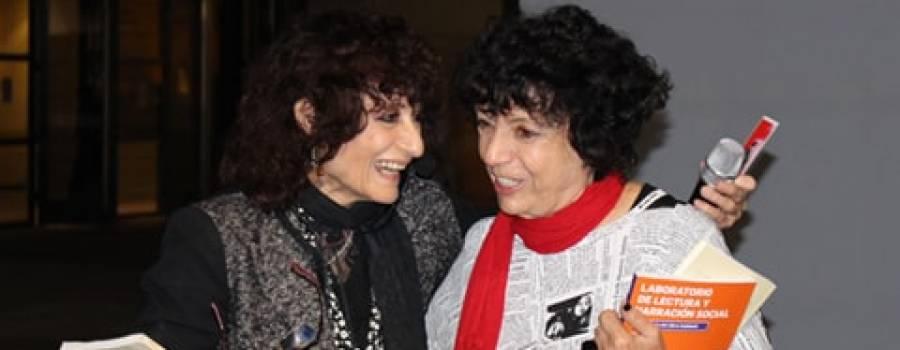 FERIA DEL LIBRO: Hoy Luisa acompañará a María Héguiz en la presentación de su nuevo libro.