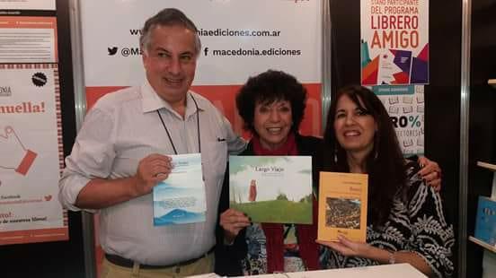 Con Diego Muñoz Valenzuela y Sandra Bianchi