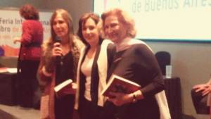 Esther Cross, Irene Chikiar Bauer y Gwendolyn Díaz.