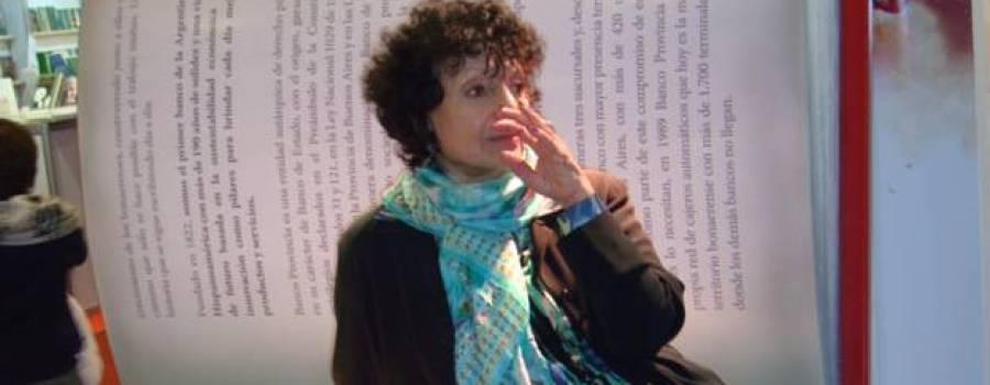 La UNSAM declara a Luisa Valenzuela Doctora Honoris Causa.