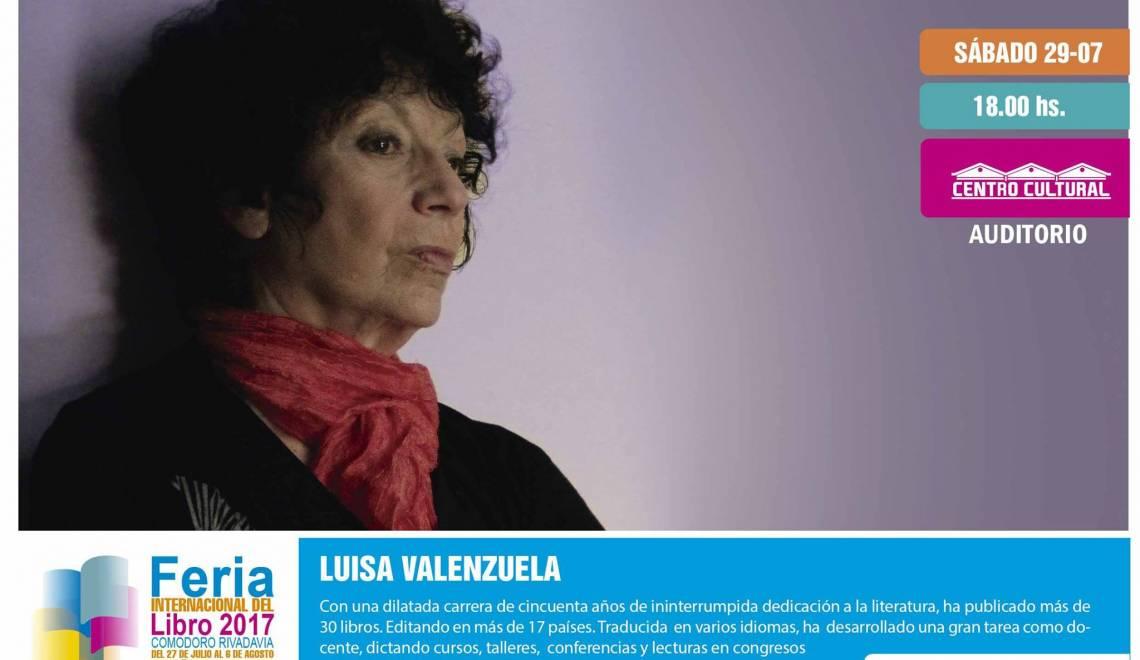 Luisa en la Feria del Libro de Comodoro Rivadavia