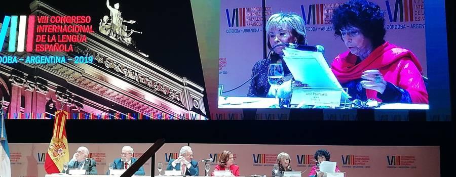 Luisa Valenzuela participó en el VIII Congreso Internacional de la Lengua Española