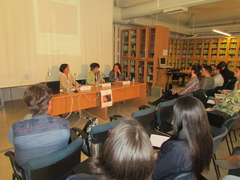 Con María Teresa Medeiros Lichem y Eva Valero Juan.