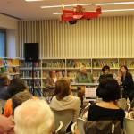 Con Susana Jakfalvi, Ángel Leiva y María Teresa Medeiros-Lechem.