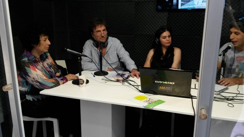 FERIA DEL LIBRO: Luisa en AM 750