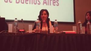 "Irene Chikiar Bauer presenta ""El vértigo de la escritura"""