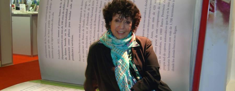 FERIA DEL LIBRO: Mañana Luisa ofrecerá el gran discurso de apertura.