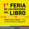 Luisa en la Feria del Libro de Corrientes