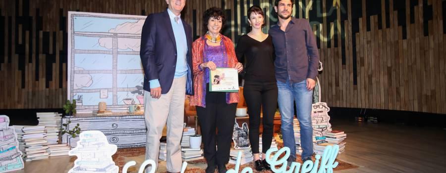 Entrega del Premio León de Greiff