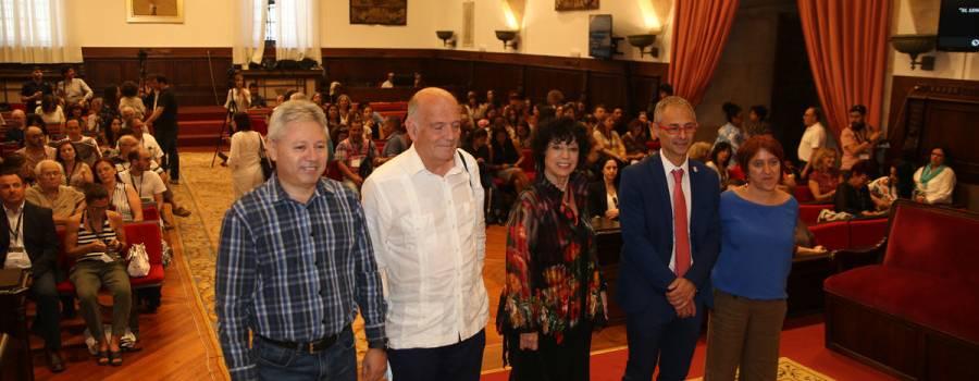 Luisa Valenzuela dio la conferencia de cierre del Congreso Internacional de Americanistas en Salamanca